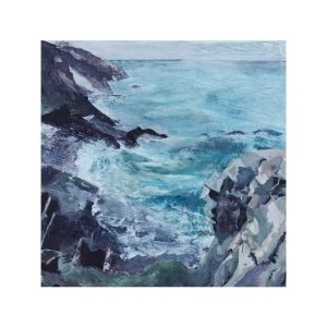 Cornish Seascape Fine Art Giclee Print by Gill Drew