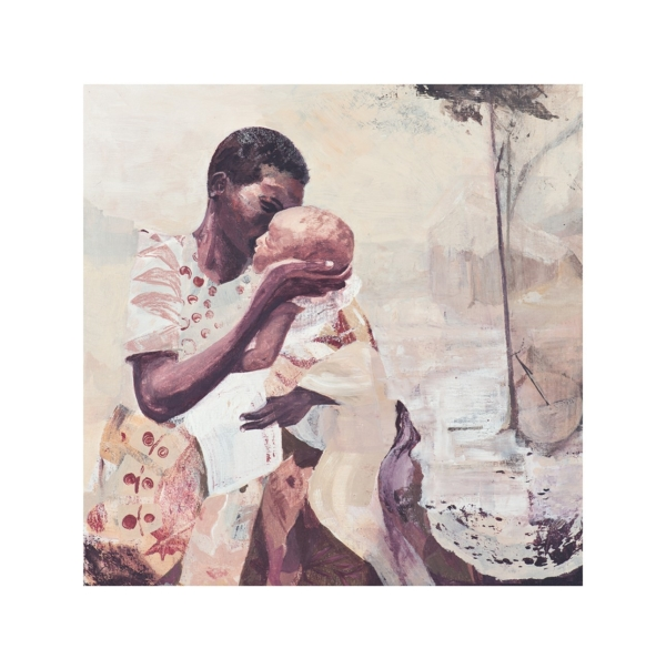 Mother and child scene Fine Art Giclee Print