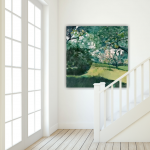 An insitu image of acrylic painting by Gill Drew